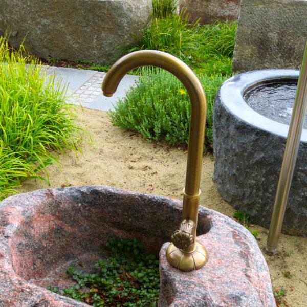 Wasserauslauf Brunnen.Brunnen Zubehör